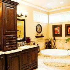 Traditional Bathroom by McCarthy Custom Homes LLC.