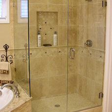 Traditional Bathroom by McCarthy Custom Homes LLC.