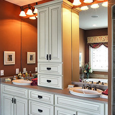Traditional Bathroom by Miami Woodworking Inc.