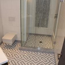 Contemporary Bathroom by MIDS TILE