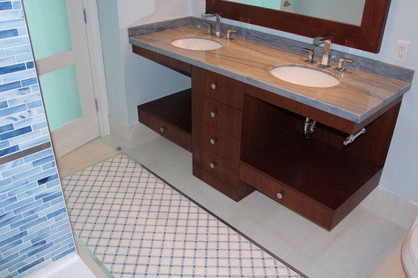 Contemporary Bathroom by MIDS TILE