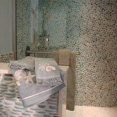 Mediterranean Bathroom by MIDS TILE