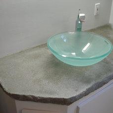 Contemporary Bathroom by model home repair / model kitchen+bath