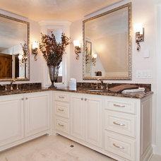 Traditional Bathroom by Modern Design LLC
