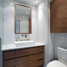 Contemporary Bathroom by NORTH AMERICAN CABINETS