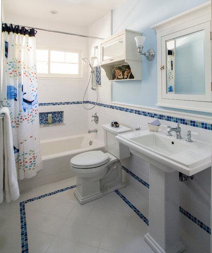 Traditional Bathroom by Nott & Associates