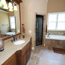 Traditional Bathroom by Overland Remodeling & Builders