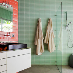modern bathroom by Peter Dressel Photography