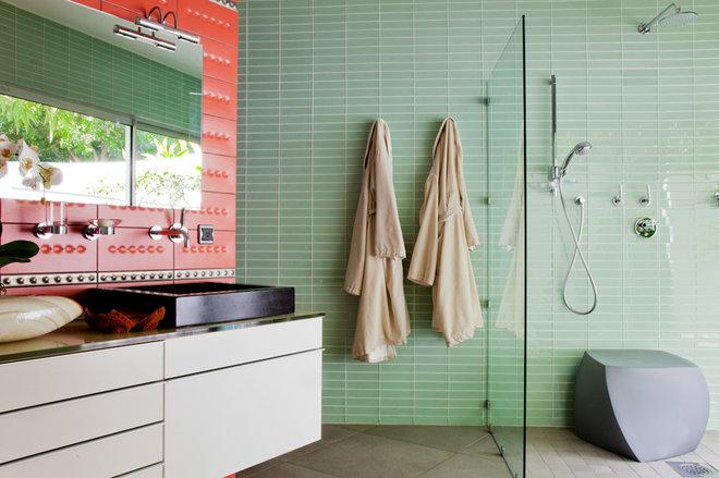 Modern Bathroom by Peter Dressel Photography