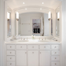 Traditional Bathroom by Peter Dressel Photography