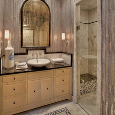 Eclectic Bathroom by Platinum Series by Mark Molthan