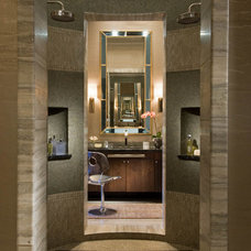Contemporary Bathroom by Platinum Series by Mark Molthan
