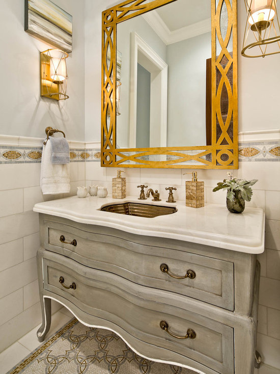 guest bathroom vanity home design ideas, pictures, remodel and decor