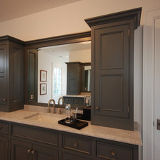 Traditional Bathroom by Priebe's Creative Woodworking