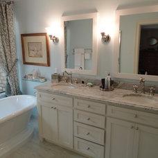 Traditional Bathroom by R K Remodeling & Maintenance LLC.