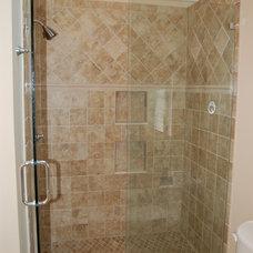 Traditional Bathroom by Radzwillas Builders, LLC