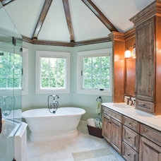 Traditional Bathroom by Roy Campana Photography
