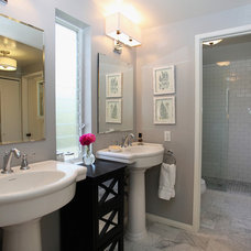 Traditional Bathroom by Stephanie Wiley Photography