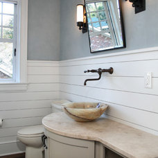 Traditional Bathroom by Sea Island Builders LLC