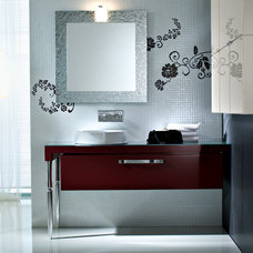 Contemporary Bathroom by SEE MATERIALS INC.