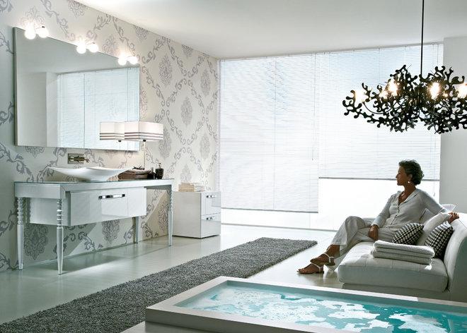 Modern Bathroom by SEE MATERIALS INC.