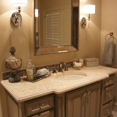 Traditional Bathroom by Simmons Estate Homes