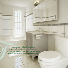 Traditional Bathroom by Ideas and Solutions