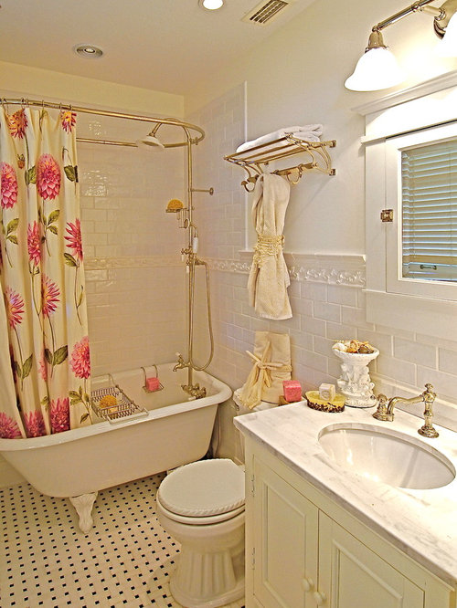 Inspiration For A Timeless Bathroom Remodel In Tampa With Subway Tile