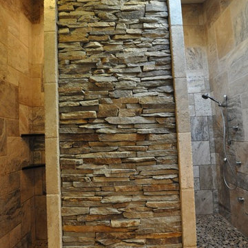 Bathrooms Spas and Stone Tile Showers