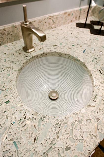 Contemporary Bathroom by Granite Tops
