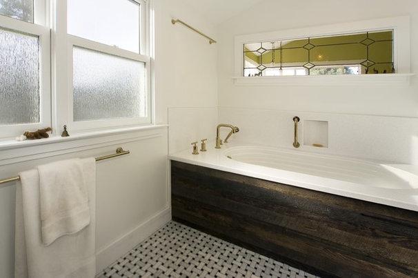 Eclectic Bathroom by Studio Marler