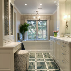 Traditional Bathroom by Sundeleaf Painting