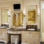 Master Bathroom Remodel Dressing Area Tarzana Ca