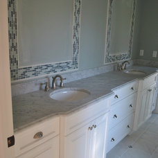 Traditional Bathroom by T & M Kitchens