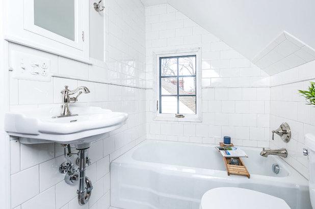 Traditional Bathroom by Tamara Sumners