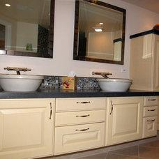 Eclectic Bathroom by Tervola Designs