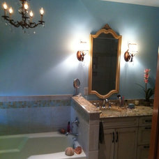 Traditional Bathroom by Thumbs Up Designs for Kitchens & Baths