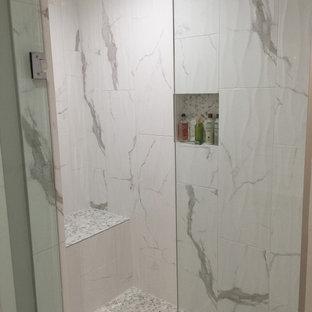 Bathrooms - Tile & Carrara Marble