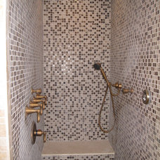 Traditional Bathroom by tile & style