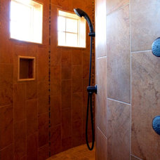 Modern Bathroom by TILE COLLECTION INC