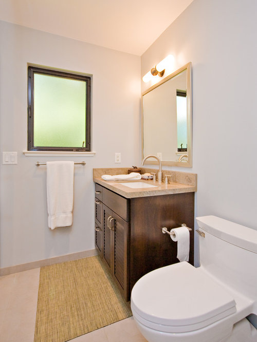 Bathrooms - Louvre Cabinet Doors