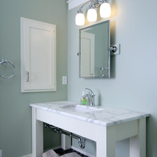 Transitional Bathroom by TruKitchens