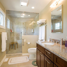 Traditional Bathroom by Turnstone Builders, LLC
