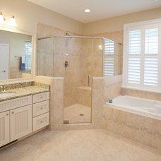 Traditional Bathroom by Turnstone Builders, LLC