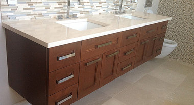 St leonard qc cabinets cabinetry professionals for Bathroom cabinets quebec