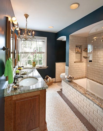 Traditional Bathroom by Wade Design & Construction Inc
