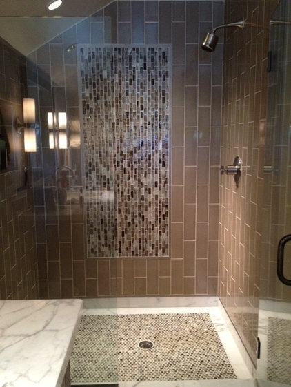 Contemporary Bathroom by Walker Zanger Tustin