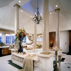 Traditional Bathroom by Wendy Ann Miller