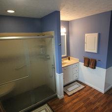 Traditional Bathroom by West Construction LLC