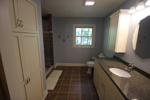 Traditional Bathroom by West Construction LLC